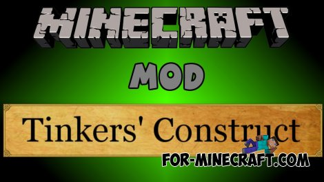 Tinker's Construct Mod 0.10.5/0.10.4/0.9.5