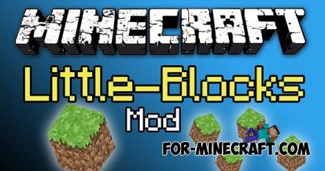 Mini Blocks mod for Minecraft Pocket Edition 0.10.5
