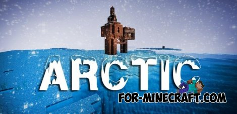 ARCTIC map for MCPE 0.10.4 / 0.10.5