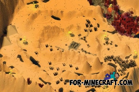 Planet Impossible map for Minecraft Pocket Edition 0.10.X