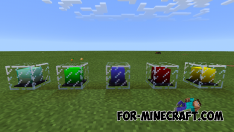 Beacons Realistic Color mod for Minecraft Pocket Edition 0.10.5
