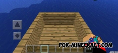 Boat for Minecraft PE 0.10.4 / 0.10.5