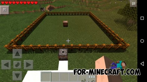 Quarry mod for Minecraft Pocket Edition 0.10.5