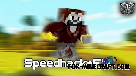 Speedhack mod for Minecraft PE 0.10.X