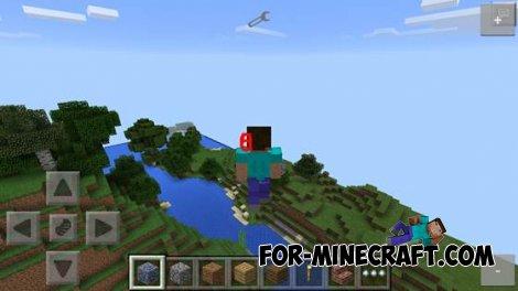 Speedhack mod for Minecraft PE 0.10.X