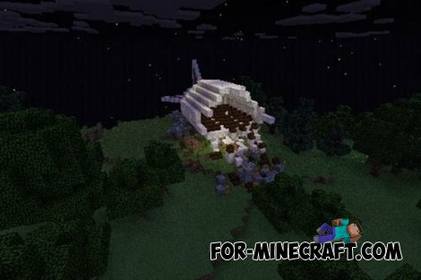 The Forest map for MCPE 0.10.5