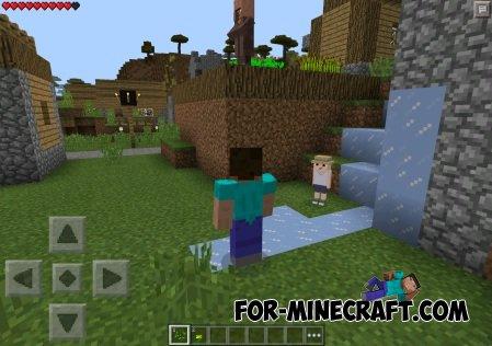 Elsa Mod for Minecraft Pocket Edition 0.10.5