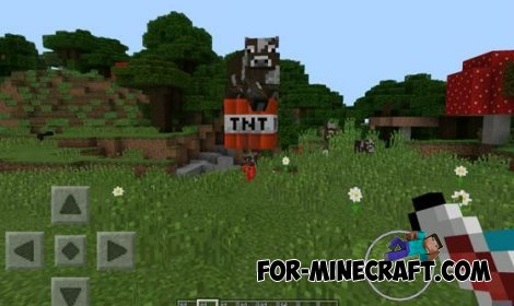 MobCannons mod for Minecraft Pocket Edition 0.10.5