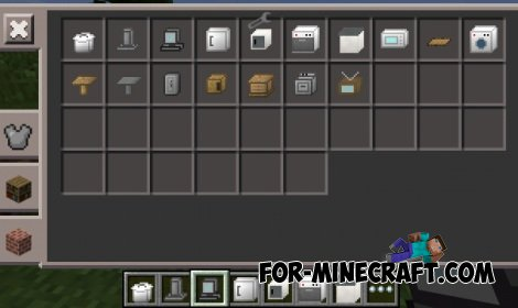 Скачать мод на мебель для Minecraft 1.0.5