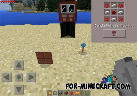 Vending machines mod for MCPE 0.10.5