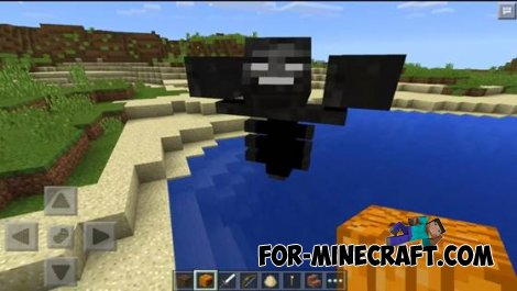 Wither mod for Minecraft Pocket Edition 0.10.5
