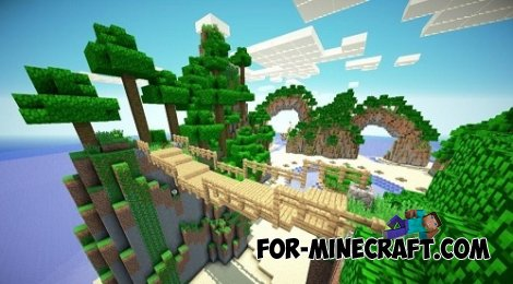 Hunger Games and island for Minecraft PE 0.10.4 / 0.10.5