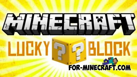 Lucky Block for Minecraft PE 0.10.5