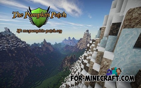 Pumpkin Patch Resource Pack for Minecraft 1.8.2