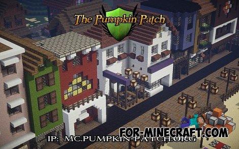 Pumpkin Patch Resource Pack for Minecraft 1.8.2
