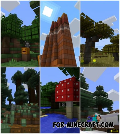 oCd Texture Pack for MCPE 0.10.5 / 0.10.4 (Android + iOS)