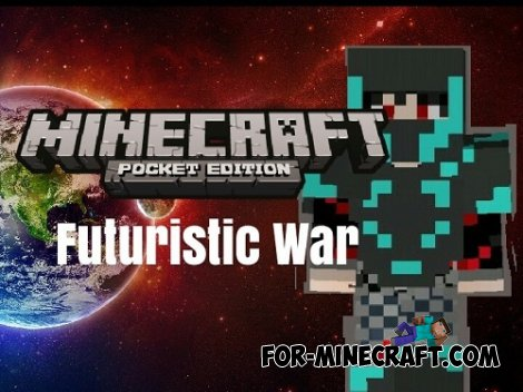 Futuristic War mod for Minecraft Pocket Edition 0.10.5