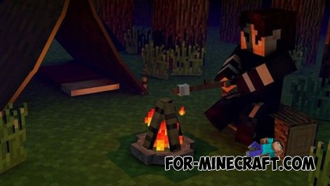 The Camping mod for MCPE 0.10.5