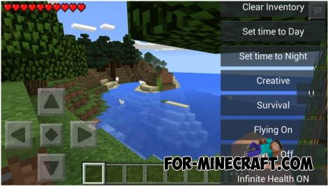 Useful v0.3 hack for Minecraft Pocket Edition 0.10.5