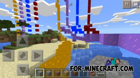 Crazy Trail mod for MCPE 0.10.5