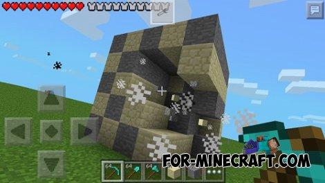 Super Tools mod for Minecraft PE 0.10.5