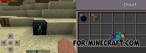 Ender Chest mod for Minecraft Pocket Edition 0.10.5