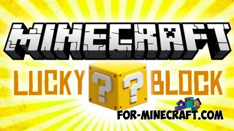 Lucky blocks mod for 0.10.5