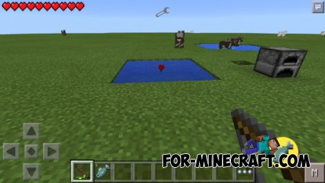 Fishing mod for Minecraft Pocket Edition 0.10.5