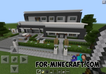 Modern house for minecraft pe for Modern house minecraft pe 0 12 1