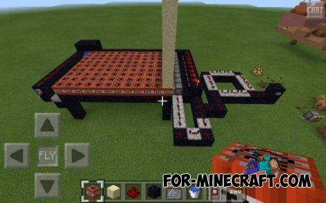 Semi-automatic gun map for MCPE 0.10.5