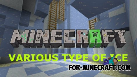 Various Type of Ice (ICE-PARKOUR) map for MCPE 0.10.X
