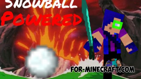 Snowball Powered mod for MCPE 0.10.5