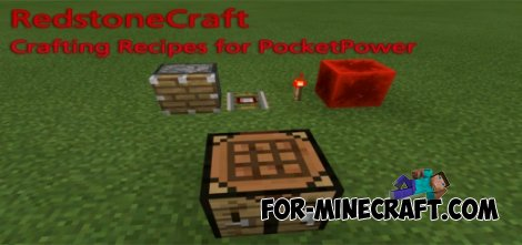Crafting Recipes for PoketPower addon