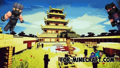The Path Of The Ninja map for Minecraft PE 0.10.X