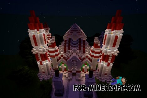 Hail Goenitz's Palace map for Minecraft PE 0.10.X