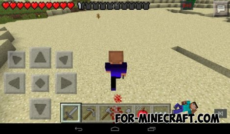 Effects walk mod for MCPE 0.10.5