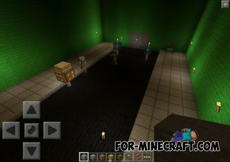 Zombie World map, chapter 1 for MCPE 0.10.X