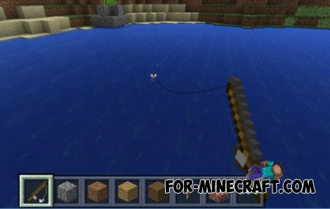 Fishing and Squid in MCPE 0.11.0