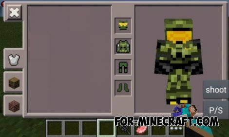 Halo 4 mod for Minecraft PE 0.10.5