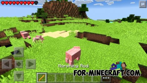 Morphing Mod for MCPE 0.10.5