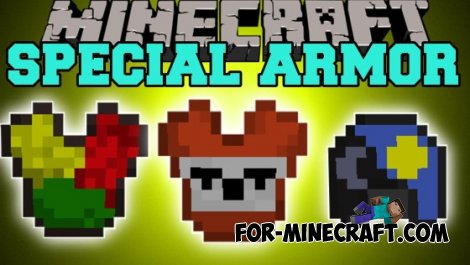 Special Armor mod for MCPE 0.10.5