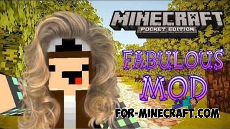 Fabulous mod for Minecraft PE 0.10.5