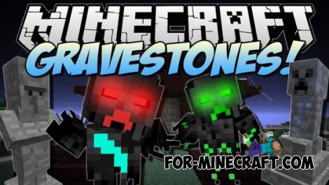 Sethblings Haunted Gravestones mod for Minecraft PE 0.10.5