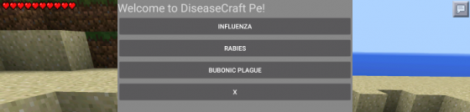 Disease Craft mod for Minecraft Pocket Edition 0.10.5