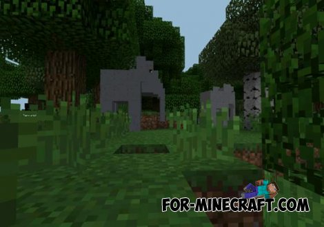 Mo Animals mod for Minecraft PE 0.10.5 by Nexdro