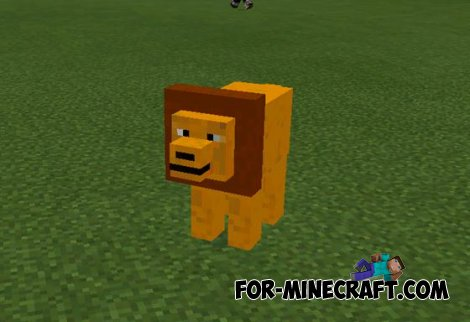 Mo Animals mod for Minecraft PE 0.10.5