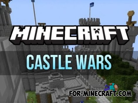 CASTLE WAR map for Minecraft PE 0.10.5