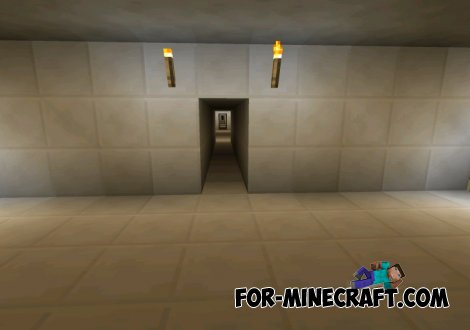 Unreal Geometry map for MCPE 0.10.5