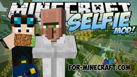 Selfie mod for Minecraft Pocket Edition 0.10.5