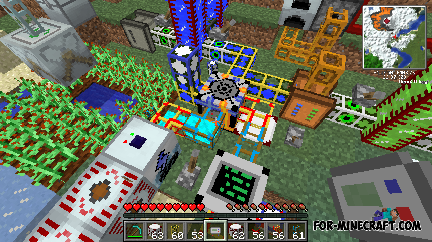Minecraft Индустриал Крафт